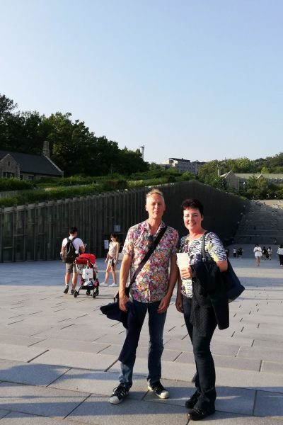 Visit to EWHA Womans University in Seoul, South-Korea